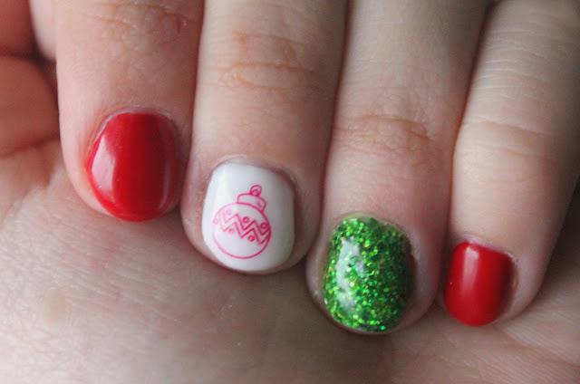 Ewelaina Nails 140 świąteczne Paznokcie Hybrydowe