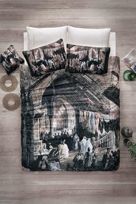 Cotton Box Kapalı Çarşı Art Saten Nevresim Takımı nevresimdunyasi