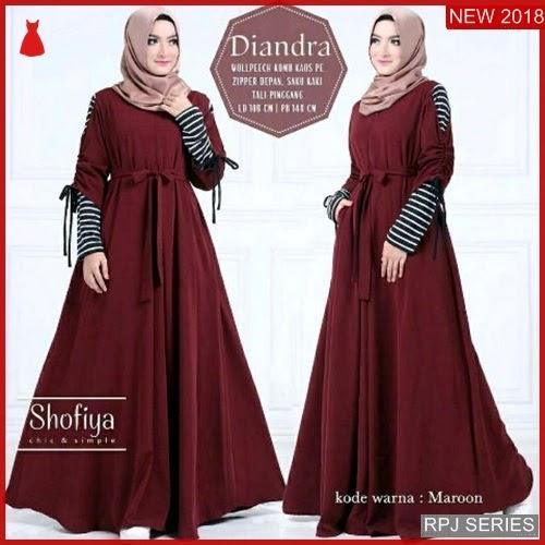 RPJ008D41 Model Dress Diandra Cantik Dress Wanita