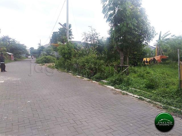Tanah Pekarangan jalan Kabupaten