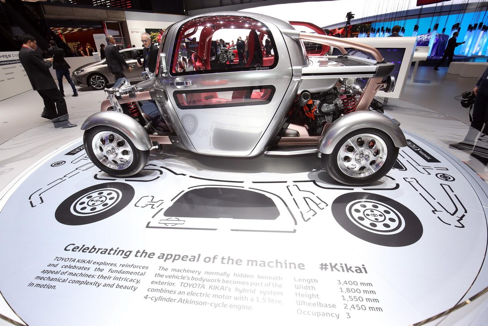 Toyota Kikai Concept - Dòng xe chứa đựng triết lý của Toyota