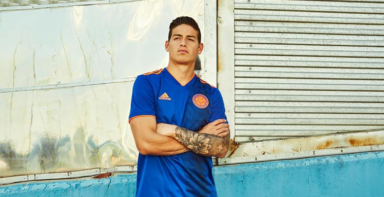 1b2d99a3e Colombia 2018 World Cup Away Kit Released - Footy Headlines