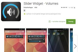 Slider Widget