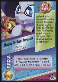 MLP Dolling Up Some Applejack Series 4 Trading Card