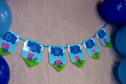 Bandeirolas festa infantil
