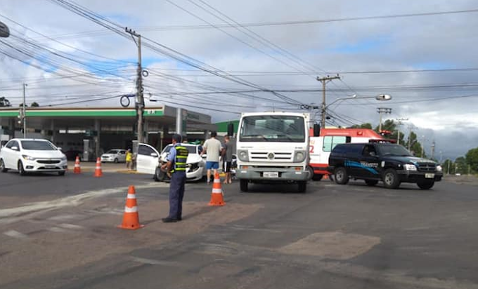 Final de semana de acidentes de trânsito em Cachoeirinha