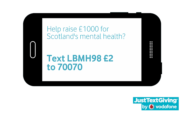 JustTextGiving - Scottish Association for Mental Health