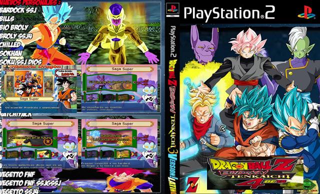 Top 12 Dragon Ball Z Budokai Tenkaichi 4 Dublado Download Ps2