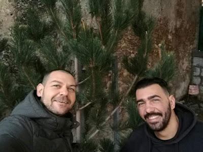 nella foto, Dario Saia (a sx) e Vincenzo Cirrincione (a dx)