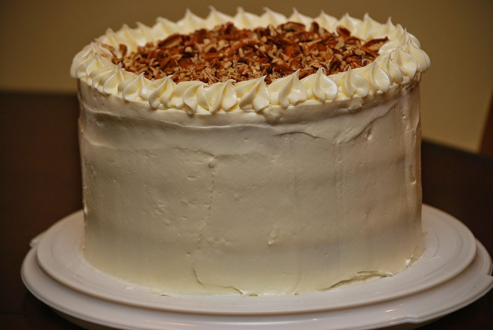My Story In Recipes Italian Cream Cake