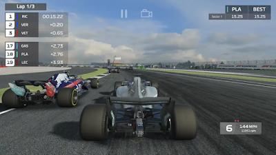 تحميل أخر إصدار لعبة السباقالفورمولاالرهيبةF1 Mobile Racing النسخة المجانية للأندرويد باخر تحديث !