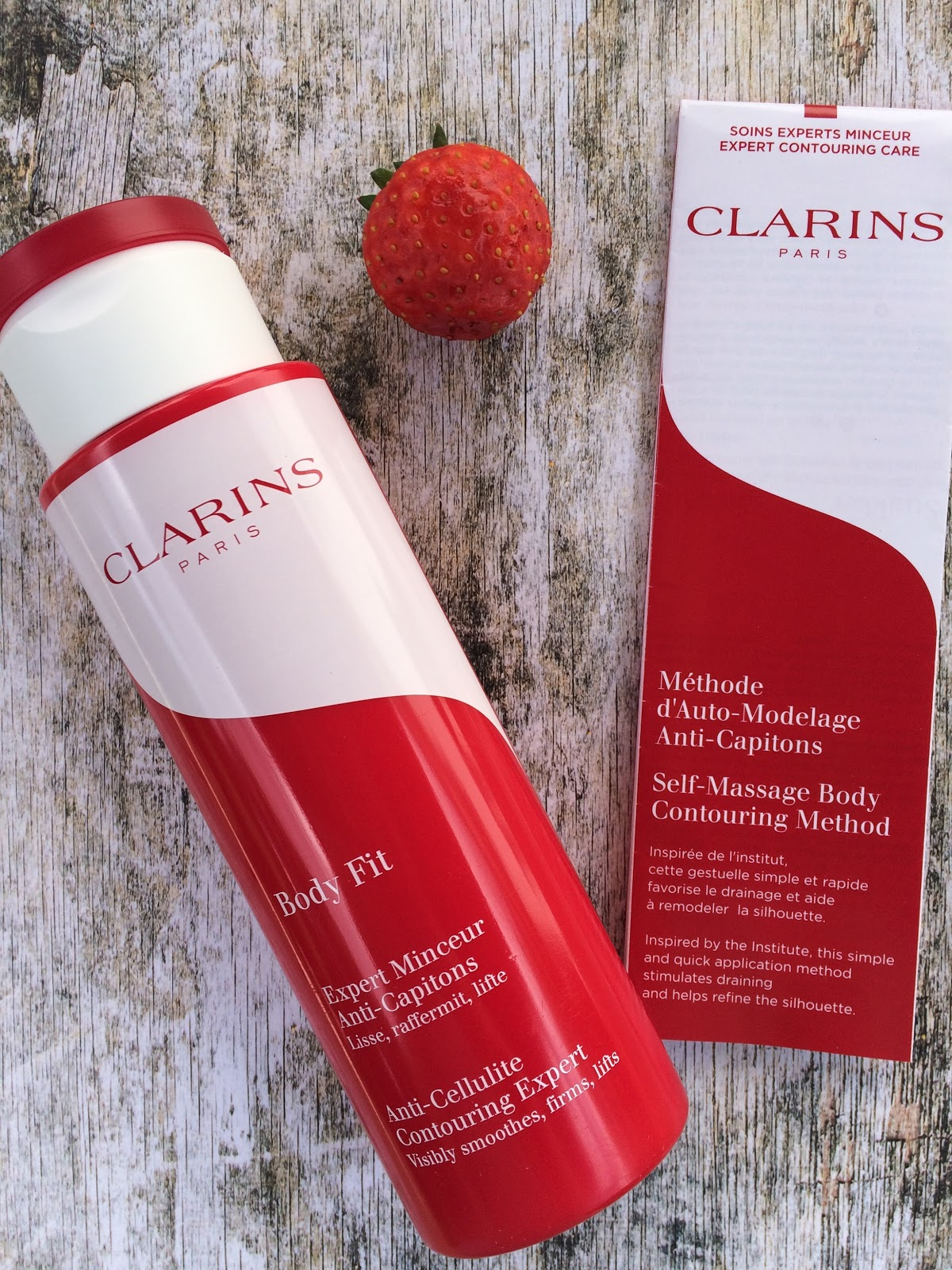 Clarins Body Fit and application leaflet