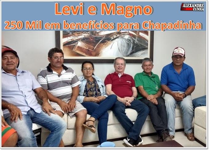 Levi e Magno: Emenda do Deputado e Parceria da Prefeitura Garantem Poços e Investimento de 250 Mil para Beneficiamento do Babaçu em Chapadinha