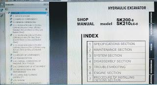 shop manual sk200-8 SK210LC-8