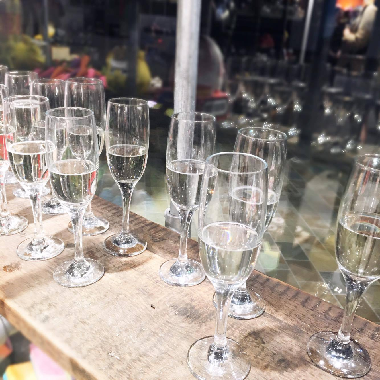 Image of Glasses of Prosecco
