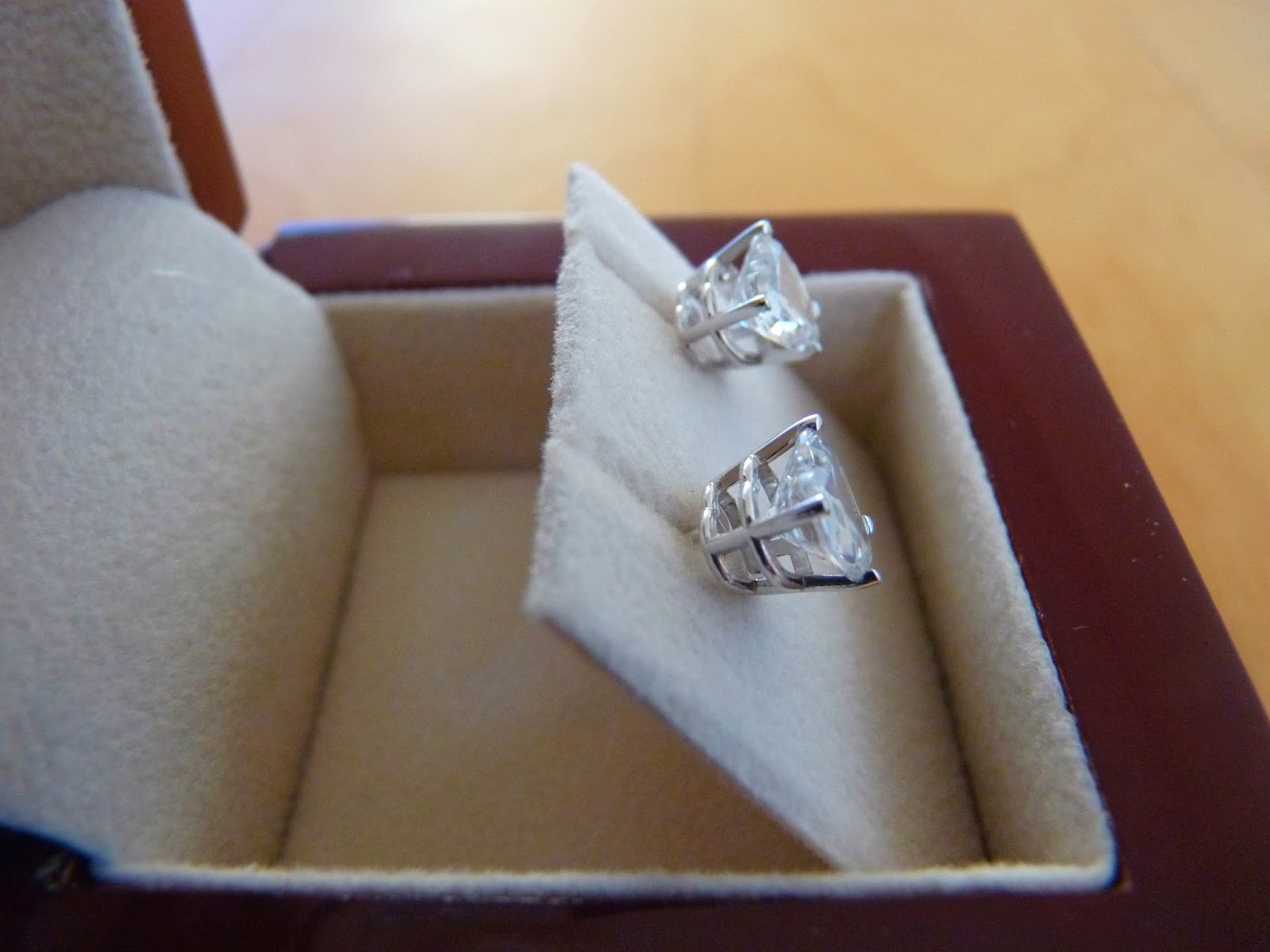 Diamond Nexus Earrings Mark Broumand 4 30ct Round Brilliant Cut