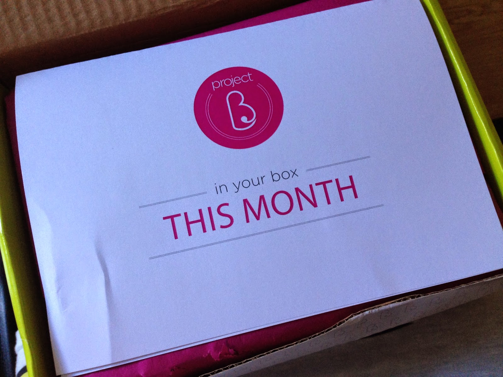Project B Pregnancy Subscription Box 20 24 Weeks Mum