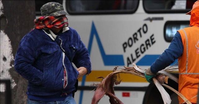 Resultado de imagem para imagens de Porto alegre no inverno