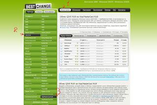 qiwi на банковскую карту - мониторинг