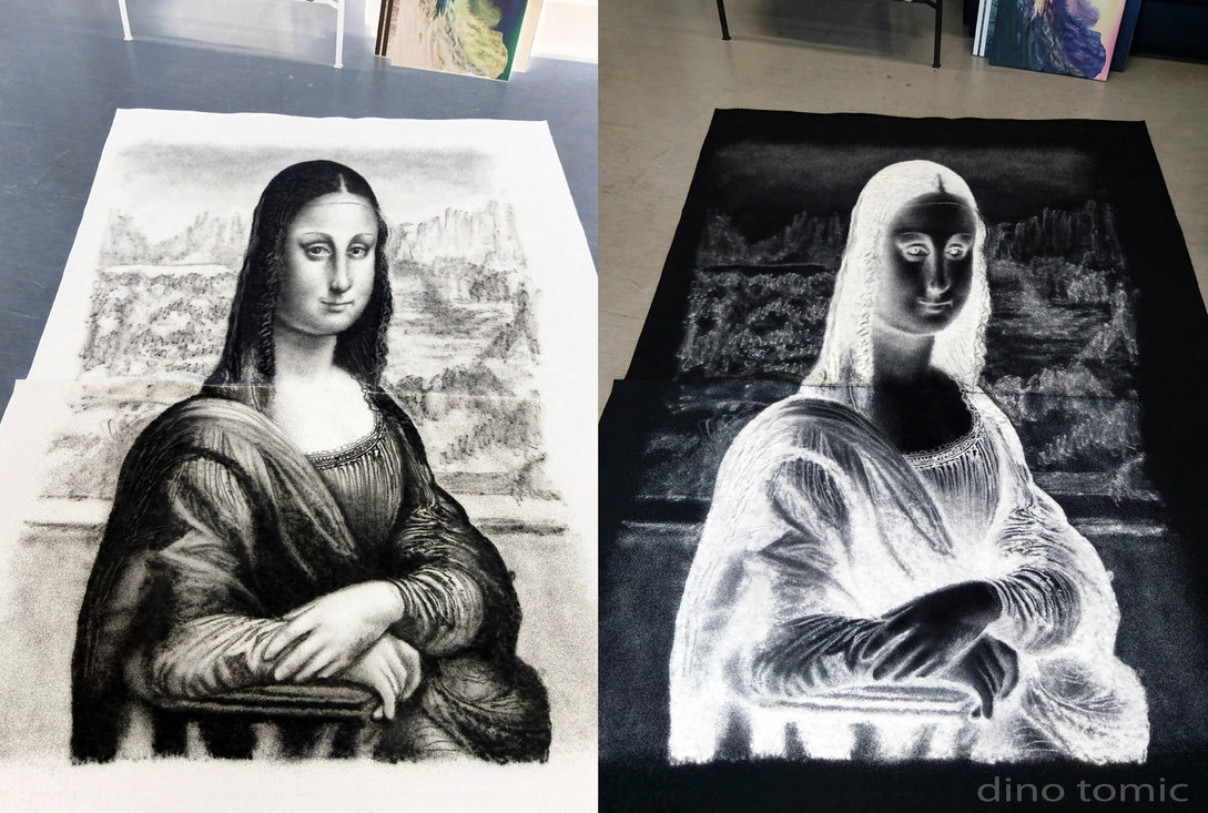 09-Mona-Lisa-Inverted-Portrait-Dino-Tomic-aka-AtomiccircuS-Kitchen-Salt-Temporary-Drawings-www-designstack-co