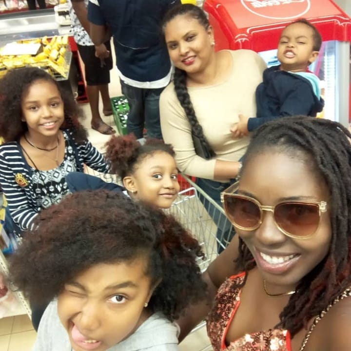 Meet Oguike Sisters Family, Parents, Mother, Brother Zion