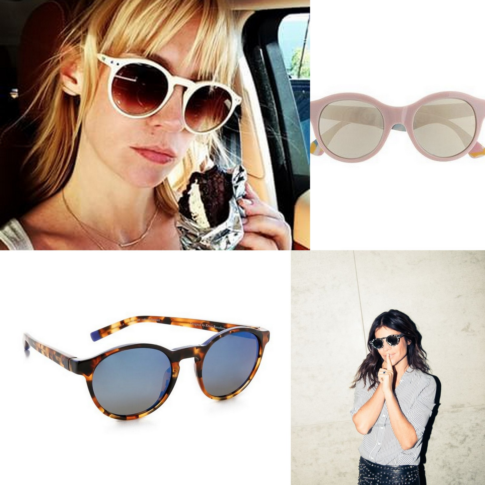 Sunglasses January Jones