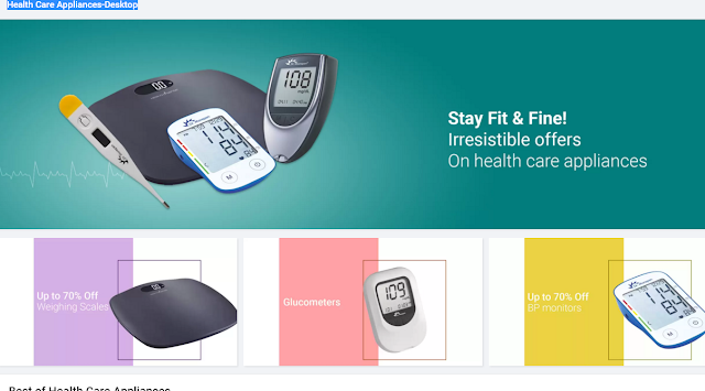 flipkart offers on Health Care products up to 70% discounts here