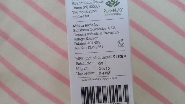 Plum Green Tea Mattifying Moisturizer Price & Shelf Life