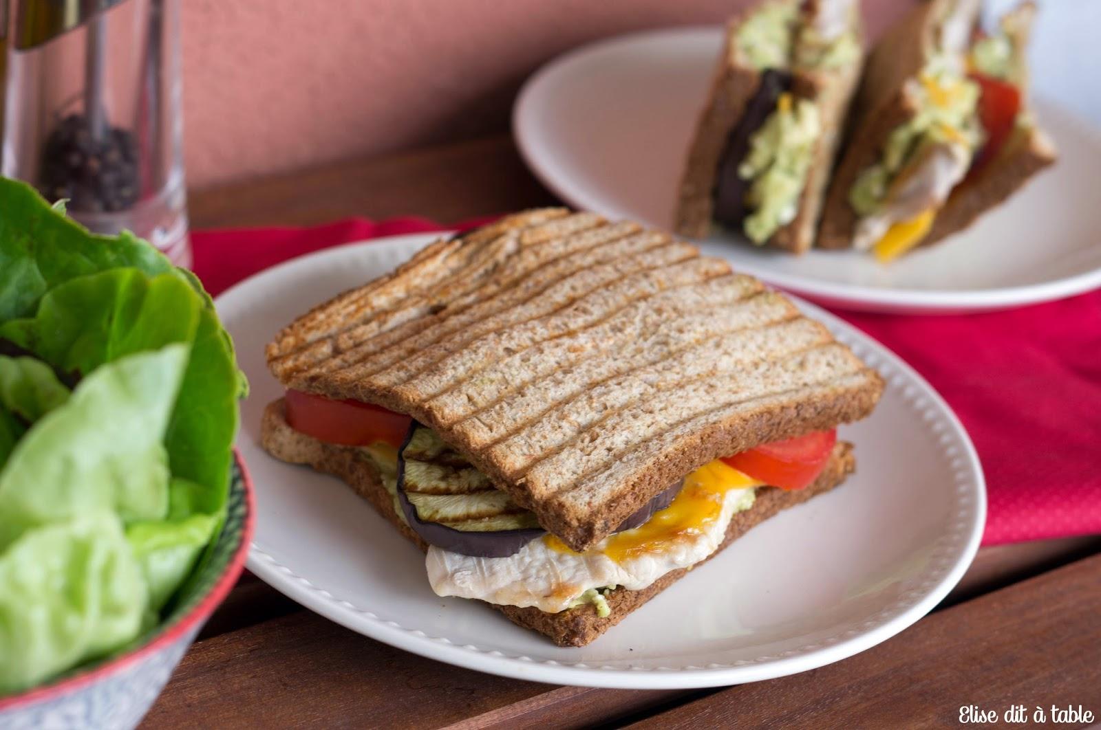 recette sandwichs grillés
