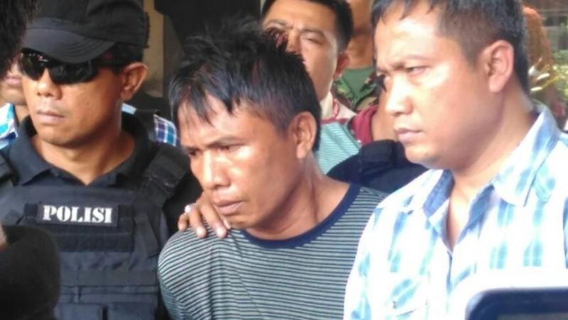 Ius Pane ditangkap polisi di Medan