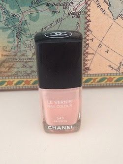 a nude chanel nail polish