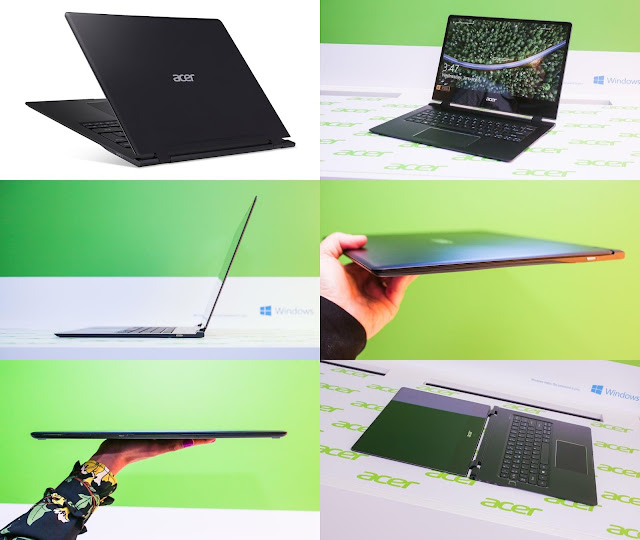 acer swift 7 thinnest laptop ces 2018 las vegas