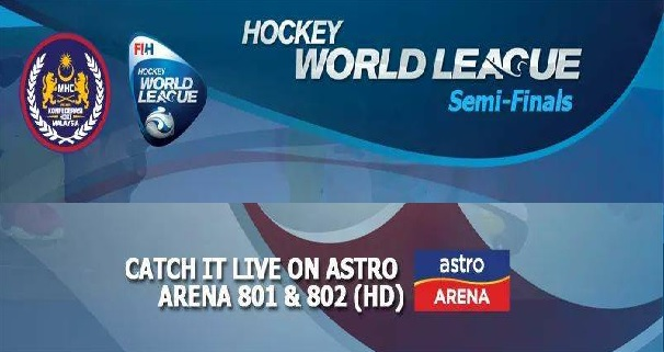 jadual dan keputusan Keputusan Liga Hoki Dunia Separuh Akhir