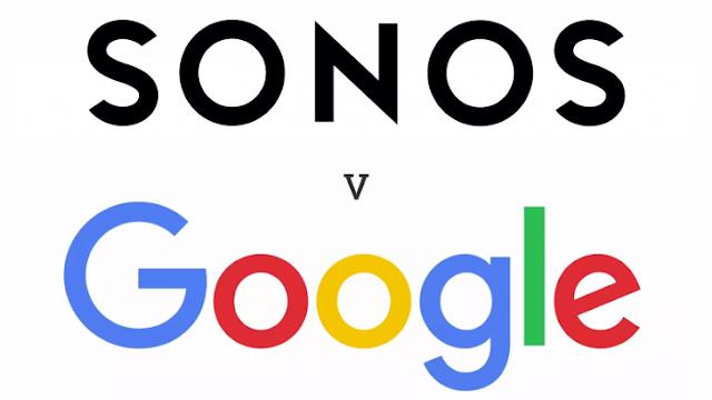 معركة google و sonos