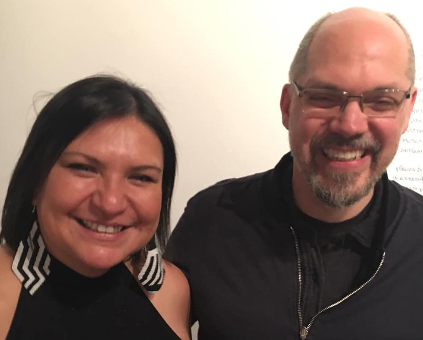 Eat Your Arts & Vegetables Hosts Daina Warren & Derek Brueckner (2018 to Present)