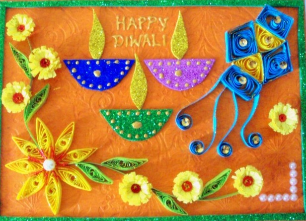 Free download happy diwali greetings 2017 diwali greeting cards handmade diwali greeting card ideas m4hsunfo