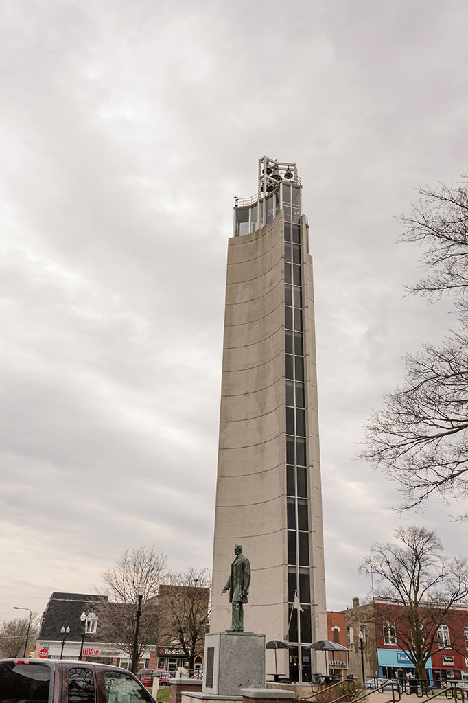Mahanay Memorial Carillon Tower in Jefferson, IA