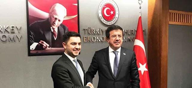 Macedonia and Turkey pledge to boost economic cooperation