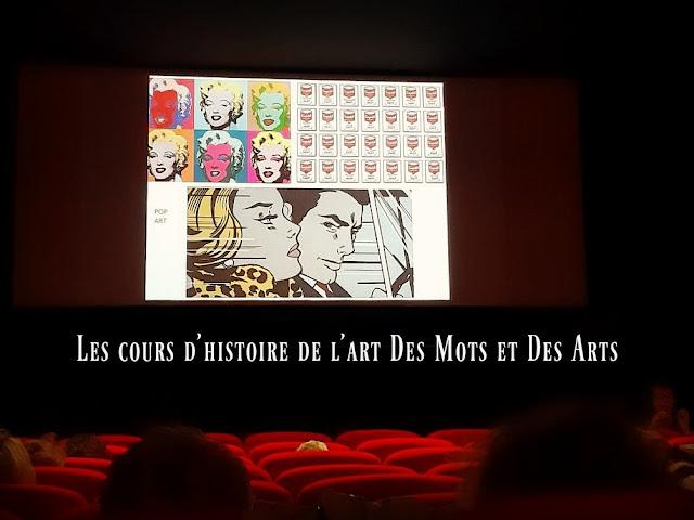 Des Mots et Des Arts cours conférence histoire de l'art culture médiation culturelle