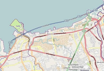 coastal road map cavitex