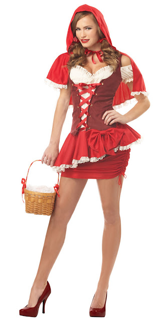 Little Red Riding Hood Womens Halloween Costume