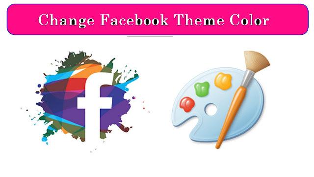 كيفية تغيير خلفية لون موضوع الفيسبوك