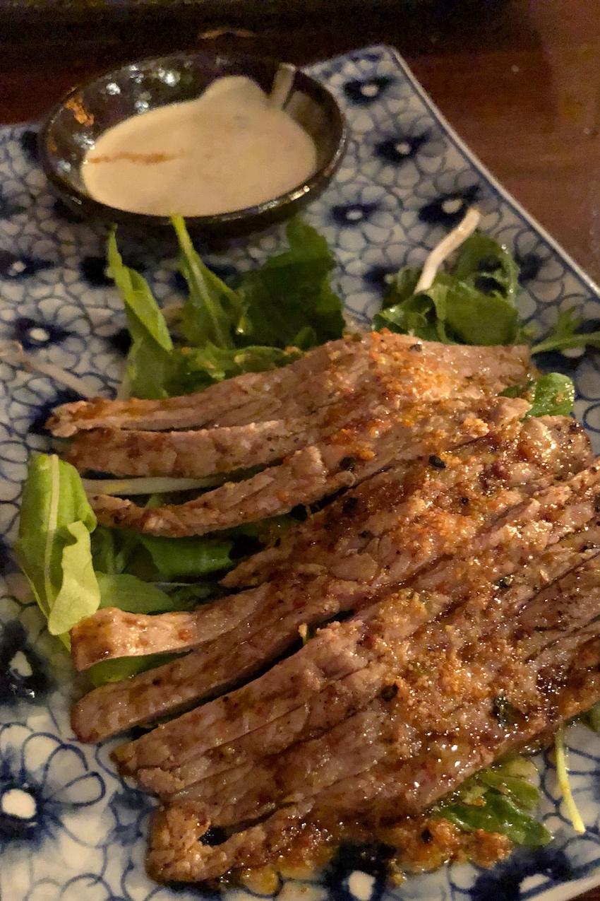 Sasazu dinner 2