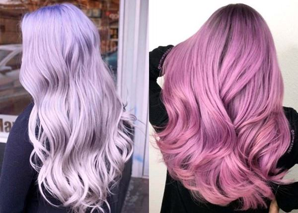 Candy Lila Haarfarbe