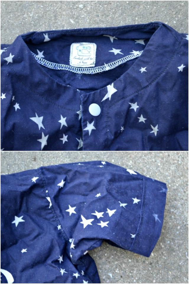 Sewing for the Boy: Night Sky Pajamas