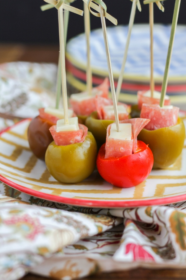 Three simple ingredients are all you need to make these delicious appetizers, perfect for game day, cocktail parties, or just for a snack!