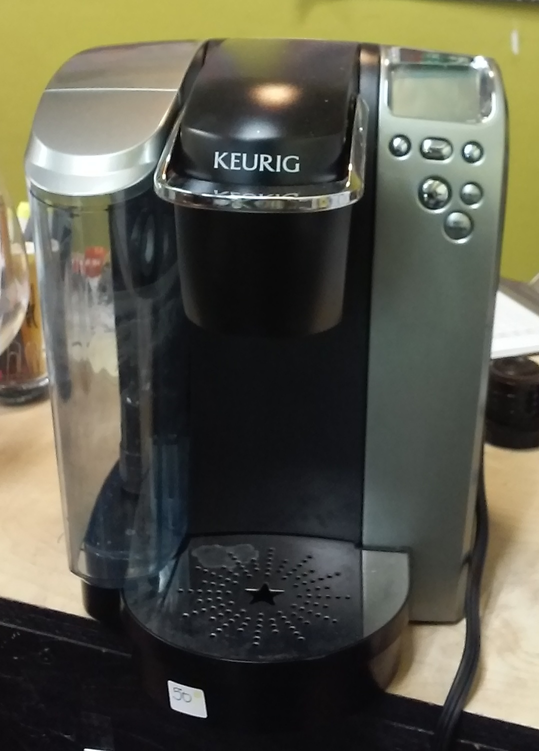 UHURU FURNITURE & COLLECTIBLES: SOLD Keurig K70 Single Cup Coffee Maker - USD 50