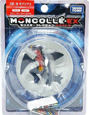 Garchomp figure Takara Tomy MONCOLLE EX ESP_18