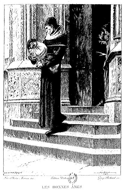 Claude Frollo et Quasimodo enfant