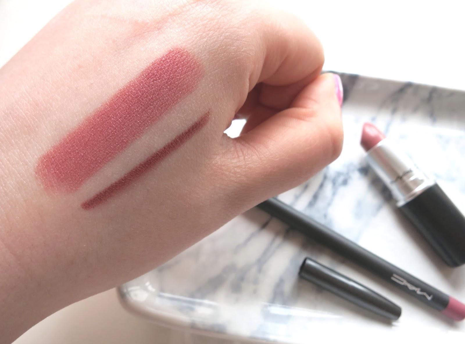 Bien-aimé MAC Brave Lipstick & Soar Lip Liner | Corrie Arnold AR93